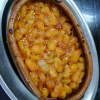 A dish of tavce gravce - white Macedonian beans