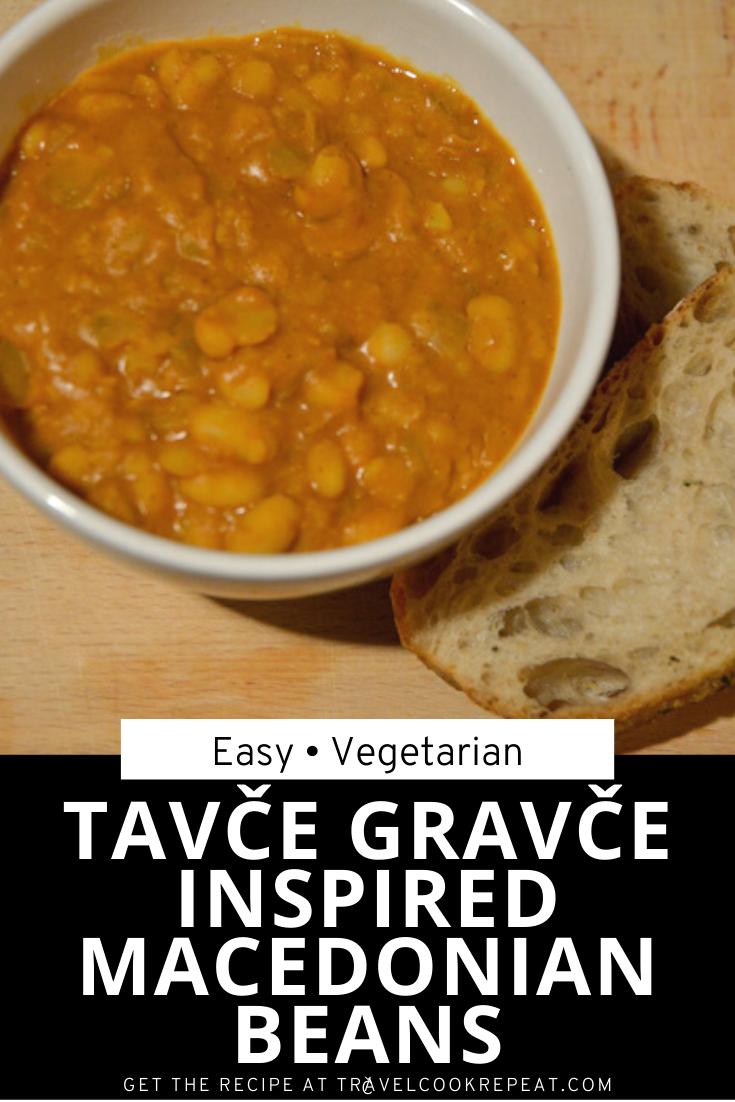 Tavče Gravče Inspired Macedonian Beans