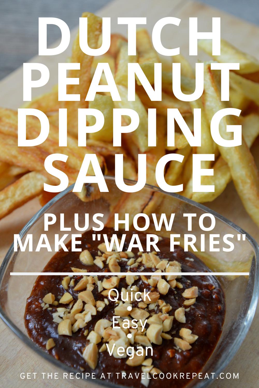 Pindasaus: Dutch Peanut Sauce