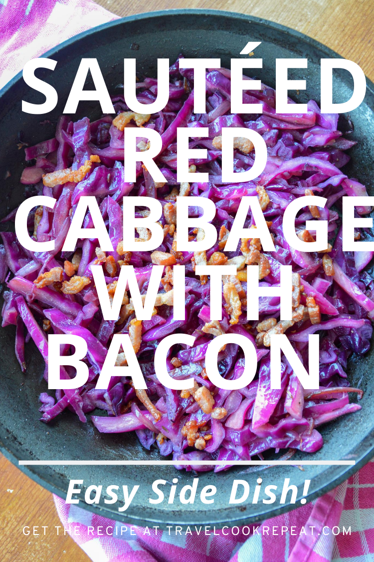 Easy Sautéed Red Cabbage