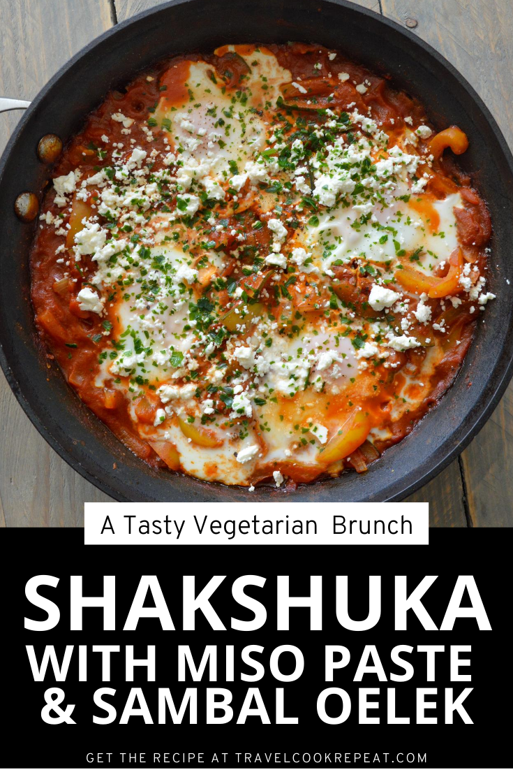 Shakshuka for Two: Spicy and Egg-celent