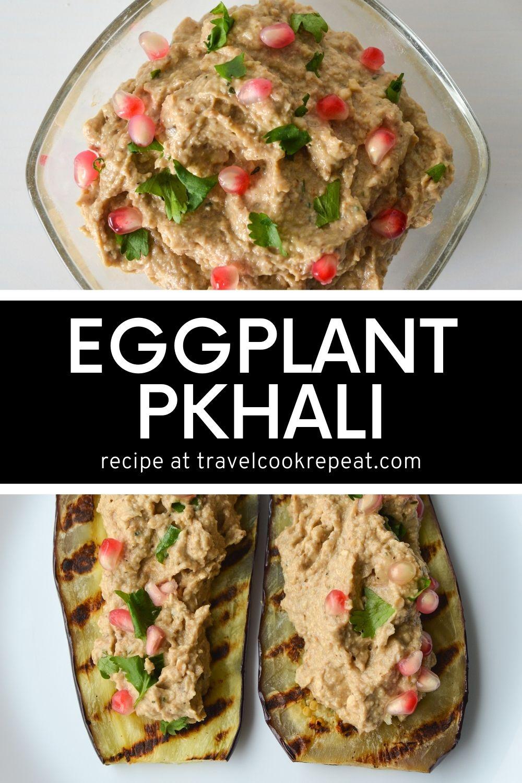 Eggplant Pkhali (ფხალი)