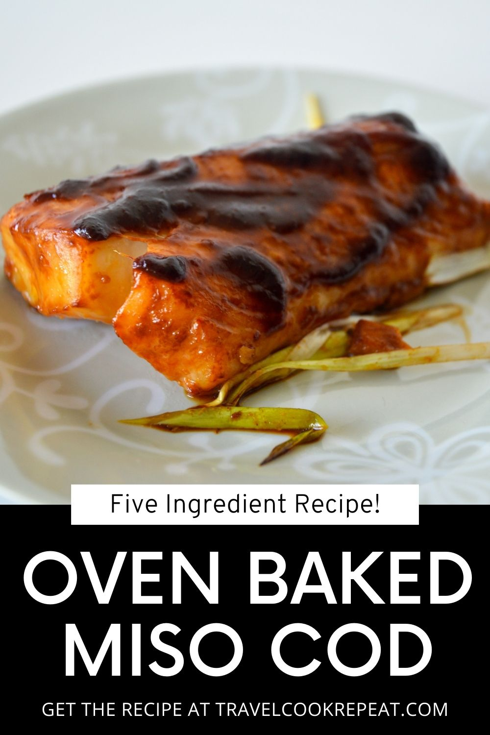 Baked Cod with Mouthwatering Miso Ginger Marinade