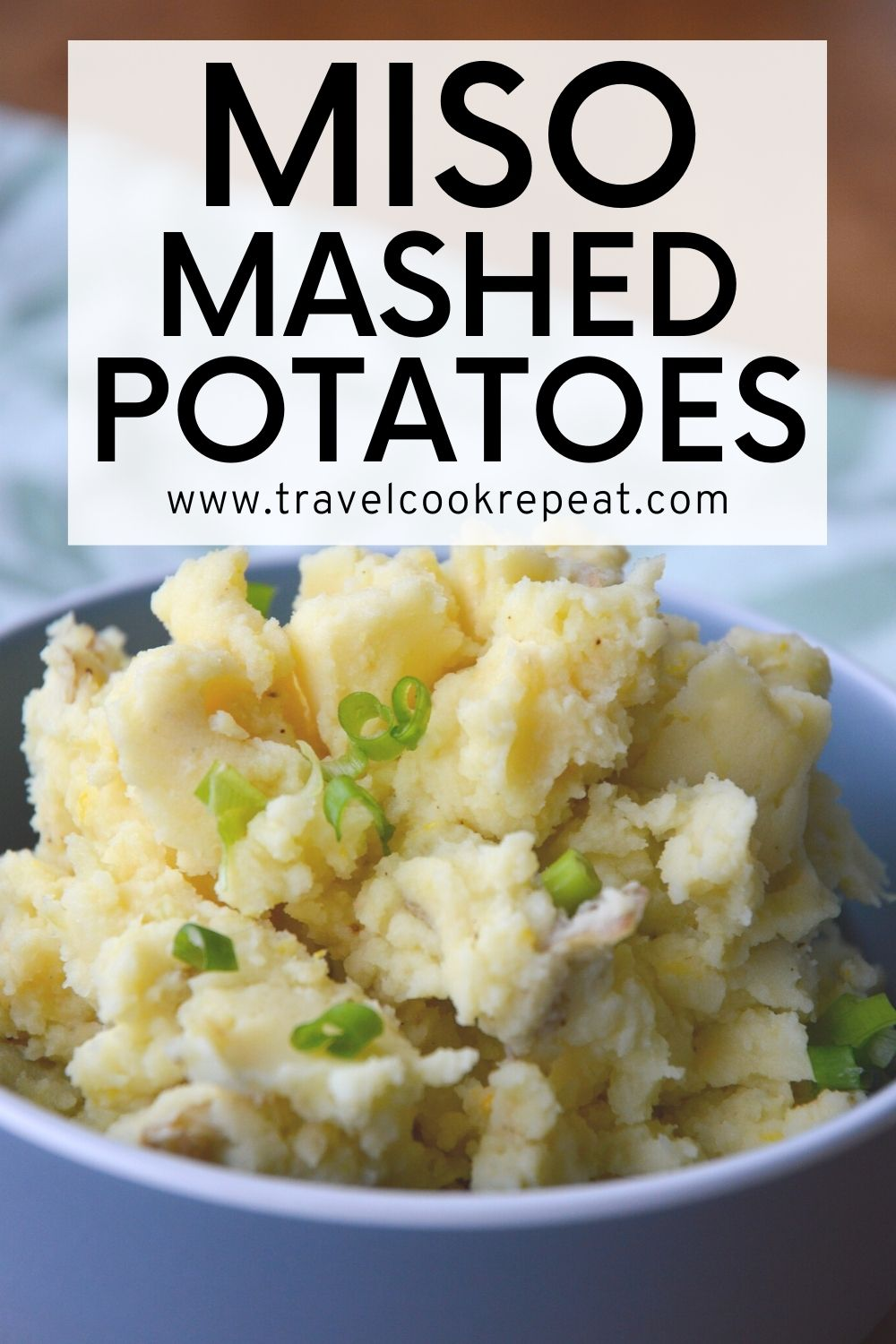 Perfect Miso Mashed Potatoes