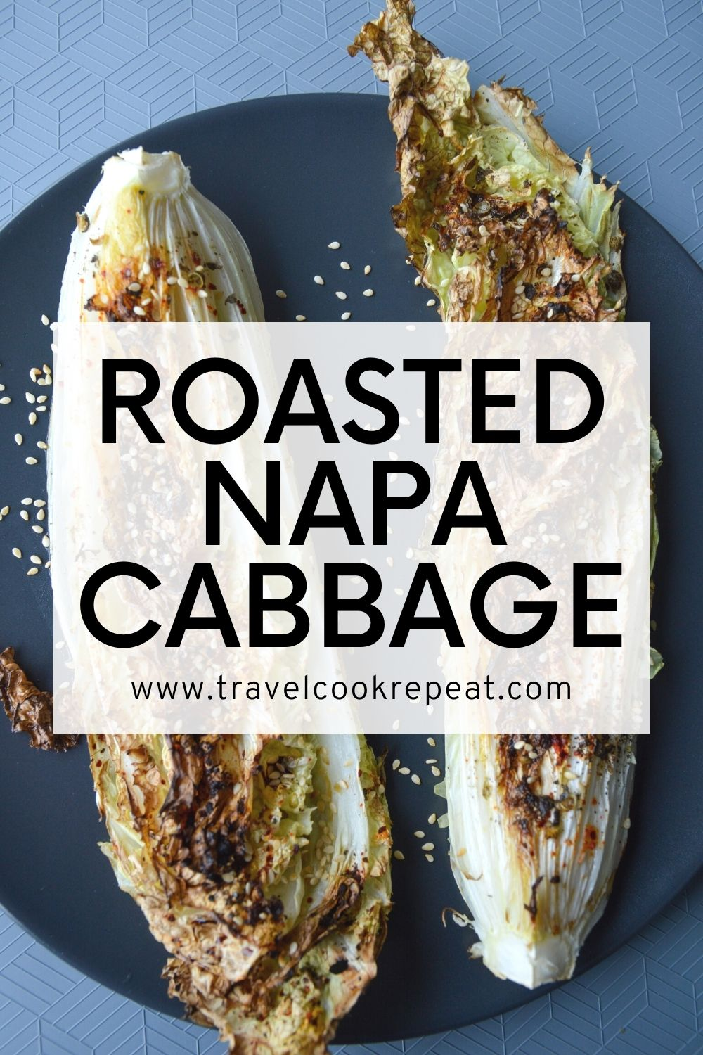 Roasted Napa Cabbage with Sichuan Peppercorns