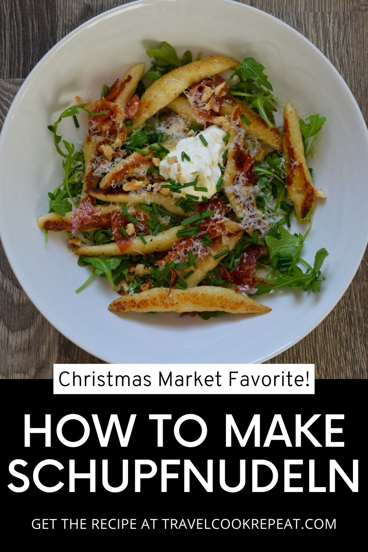 Schupfnudeln - Homemade Christmas Market Food